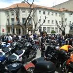 Ciudad Real: Moteros unidos contra los guardarraíles y en memoria de todos los caídos