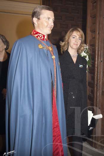 Pedro de Borbón y Sofía Landaluce