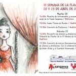 Semana de la flauta en el Conservatorio Marcos Redondo