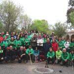 Puertollano: Los clubes Pozo Norte y La Raña se adentraron en la Sierra de Puertollano en una ruta senderista