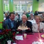 Puertollano: Toribio cumple cien años y lo celebra por todo lo alto