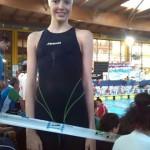 Valeria Moya consigue el cuarto puesto en los 100 braza del Campeonato de España en Edad Escolar