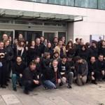 """Los trabajadores vuelven a denunciar la """"manipulación"""" en RTVCM con otro """"viernes a negro"""""""