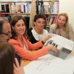 La alcaldesa presenta el proyecto de ampliación del Colegio de Valverde al Consejo Escolar del centro