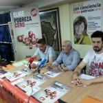 PSOE, Ganemos, UPyD, Ciudadanos y VOX eligen pobreza cero y firman un compromiso con la Alianza Local de Ciudad Real