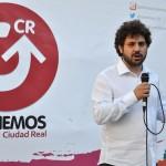 Ganemos Ciudad Real «despide» en los Jardines del Prado a Rosa Romero «como se merece»
