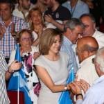 """Cospedal: """"Votar a Ciudadanos no es votar al PP con condiciones, votar a Ciudadanos puede ser votar a Podemos con condiciones"""""""