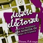 El Foro Social de Campo de Criptana organiza un debate electoral con los candidatos a la alcaldía