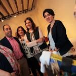 Ciudad Real: La alcaldesa visita la exposición de encaje de bolillos en el Museo López-Villaseñor
