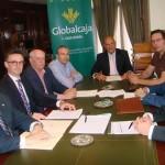 Globalcaja da un nuevo paso para facilitar la construcción de la sede del Colegio de Abogados de Ciudad Real