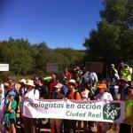 Marchan contra las leyes de caza y de parques nacionales, las obras ilegales en espacios naturales y el cierre de caminos