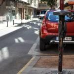 Vandalismo en la calle Juan Caba