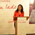 Pilar Zamora se desmarca de PP y Ganemos: El PSOE ni ha «engañado» durante 20 años ni se «esconde» detrás de otras siglas