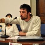 """Ramón Espinar (Podemos): """"El problema es que la forma actual de gobierno es la corrupción"""""""