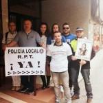 Puertollano: Policías locales denuncian «expresiones inadecuadas» de un militante socialista durante las protestas de ayer