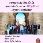 Ciudad Real: Rosa Díez estará con Ángel María Rico en la presentación de la candidatura municipal de UPyD