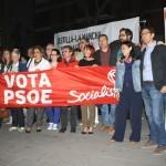 El PSOE se toma la campaña electoral como una cuenta atrás para «cambiar» a Rosa Romero y a Cospedal