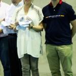La alcaldesa asiste a la clausura y entrega de trofeos del Torneo Jesús Aurrerá del Colegio Marianistas