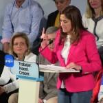Rosa Romero critica a sus rivales: La «ruina absoluta» del PSOE, la «vergüenza» de IU y el candidato de Ciudadanos que «no conoce» sus propuestas
