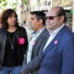 Rico (UPyD) asegura que los vecinos quieren acabar con la «balanza» del bipartidismo
