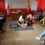 16 nuevos voluntarios se forman como socorristas en Cruz Roja Valdepeñas