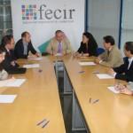 Pilar Zamora presenta el programa del PSOE a FECIR