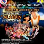 'Aladdin' cantará en Ciudad Real por los niños con cáncer