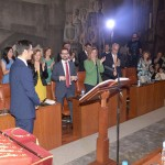 Caballero inicia su mandato en la Diputación anunciando más dinero para planes de empleo y proponiendo un acuerdo contra la corrupción