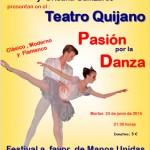 Festival de danza y baile a favor de Manos Unidas