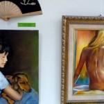 Puertollano: Los barrios El Carmen y Santa Ana muestran su creatividad en una exposición de pintura