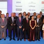 Pedro Palacios destaca el compromiso de Globalcaja con el mundo de la empresa en los premios FEDA