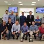 Pedro Palacios felicita al Globalcaja Fútbol Sala por haber logrado el campeonato
