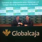 Firma de Globalcaja con el Colegio de Farmacéuticos de Albacete