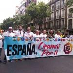 La fiesta de la oración de la Iglesia evangélica celebrada en Madrid contó con un centenar de fieles de Ciudad Real