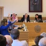Sólo el PP pone pegas en el pleno a las retribuciones de los concejales y al resto de propuestas del equipo de gobierno