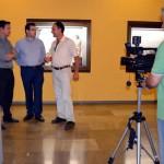 Terrinches graba un vídeo para difundir sus yacimientos arqueológicos en el Museo Provincial de Ciudad Real