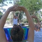Ciudad Real celebra el Día Internacional del Yoga en el Parque de Gasset