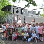 Puertollano: Encuentro con el yoga en su día internacional en una sesión al aire libre en el Pozo Norte
