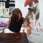 Puertollano: El sueño de la pequeña María Dueñas