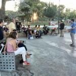Asamblea de barrio de Ganemos: Los vecinos de Puerta Toledo demandan aseos públicos en el parque del Cementerio