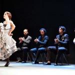 La compañía de Olga Pericet transformó el silencio en música en el Patio de Comedias de Torralba