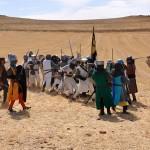 Batalla de Alarcos: El rey cristiano huye hostigado por las huestes almohades