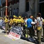 Los trabajadores de las BRIF sostienen la huelga indefinida por quinta semana consecutiva