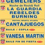 Los precios de todos los conciertos de la Feria de Ciudad Real