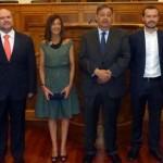 Tres nuevos diputados prometen su cargo en las Cortes regionales