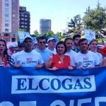 """Solo un asesor recibe a los manifestantes: Unanimidad política en auxilio de Elcogas pese a los """"sarpullidos"""" de Industria"""