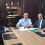 Puertollano: Convenio de colaboración entre el Colegio Oficial de Ingenieros Técnicos Industriales y Globalcaja