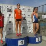 Paula Sevilla se proclama campeona de España junior de 4×100 y plata en los 200 metros