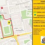 Plano de seguridad de la zurra y consejos de Protección Civil