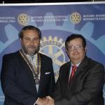 Santiago Selas, nuevo presidente del Club Rotario de Ciudad Real